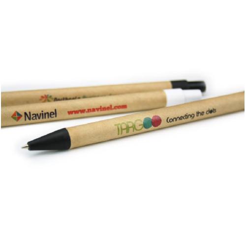 penna personalizzata eco-green stampa quadricroma