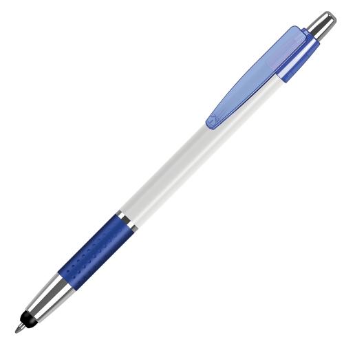 penna personalizzata con touch stampa quadricromia 360° PP-S070 blu