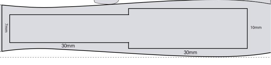 translucent posizione ed area di stampa zoom